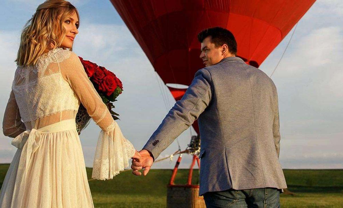 Hot Air Balloon Wedding
